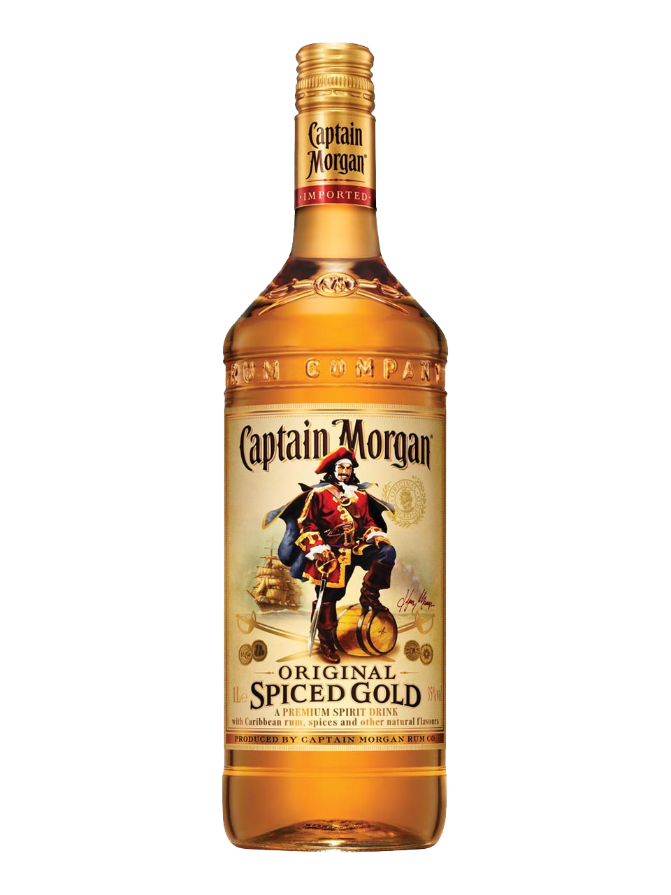 Captain Morgan Dorado 750cc