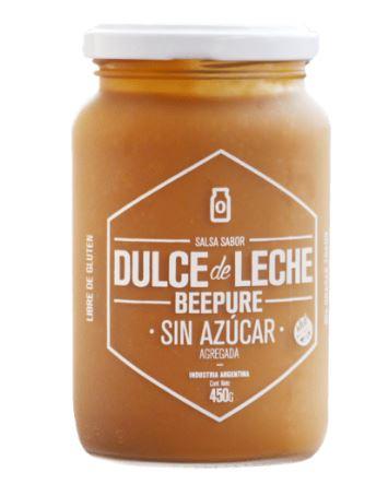 Dulce de leche sin azucar Beepure 400gr
