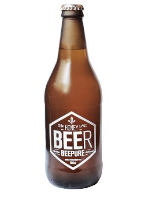 Cerveza Beepure Honey 500ml