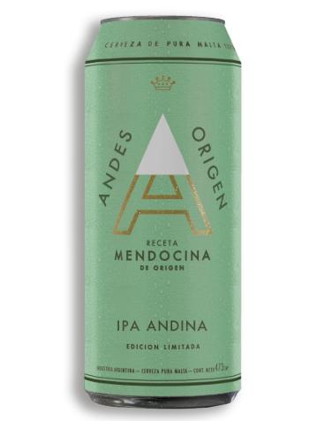 Andes IPA Lata 24x473cc