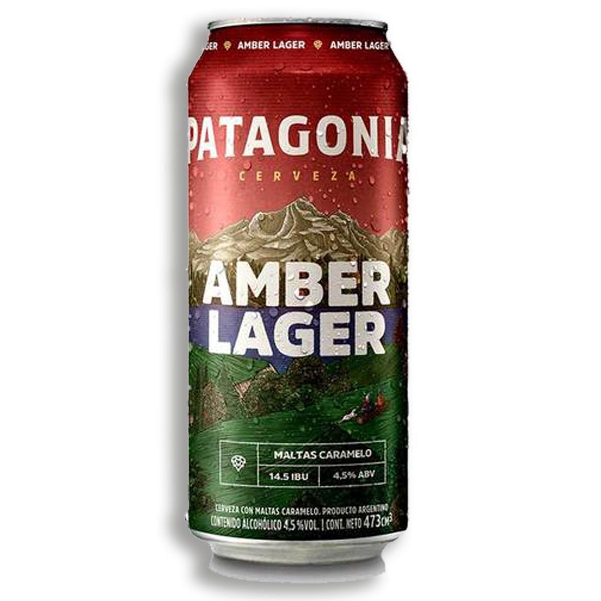 Patagonia Amber Lager Lata 24x473cc