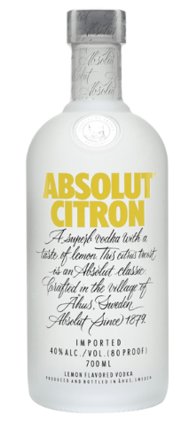Absolut Citron 750cc