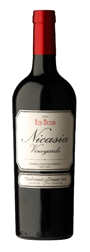 Nicasia Vineyards Cabernet franc 6x750cc