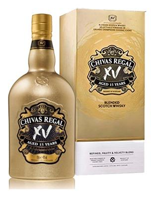 Chivas XV Gold Estuche 750cc