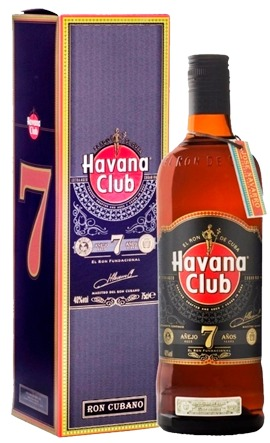 Vap Havana Club 7 Años c/ estuche 750cc