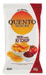 Papas quento ketchup