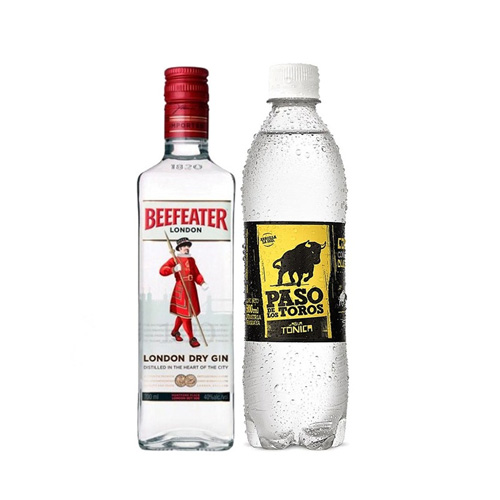1 Beefeater 750ml + 1 tonica 1,5lt