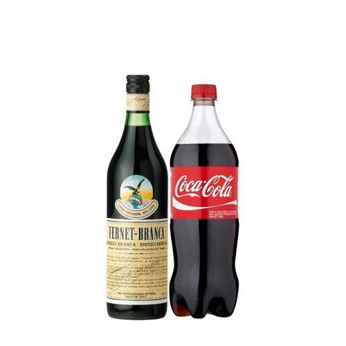 1 Fernet Branca 1l + 1 Coca 2,25lt