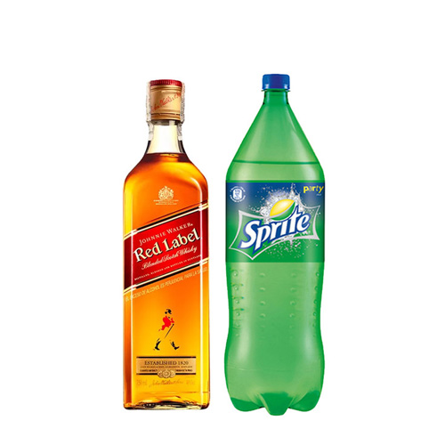 Johnnie & Lemon (JW Red 750cc + Sprite 1,75lt)