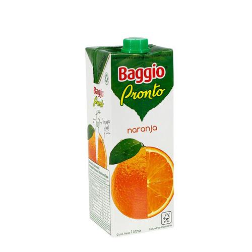 Jugo Baggio Naranaja 1lt