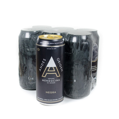 Six Pack Andes Negra 473cc
