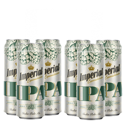Six Pack Imperial Ipa lata 473cc