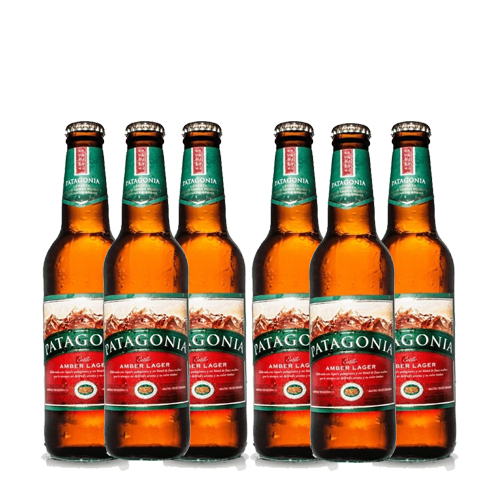 Six Pack Patagonia Amber Lager porrón