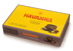 Alfajores chocolate Havanna x 12u