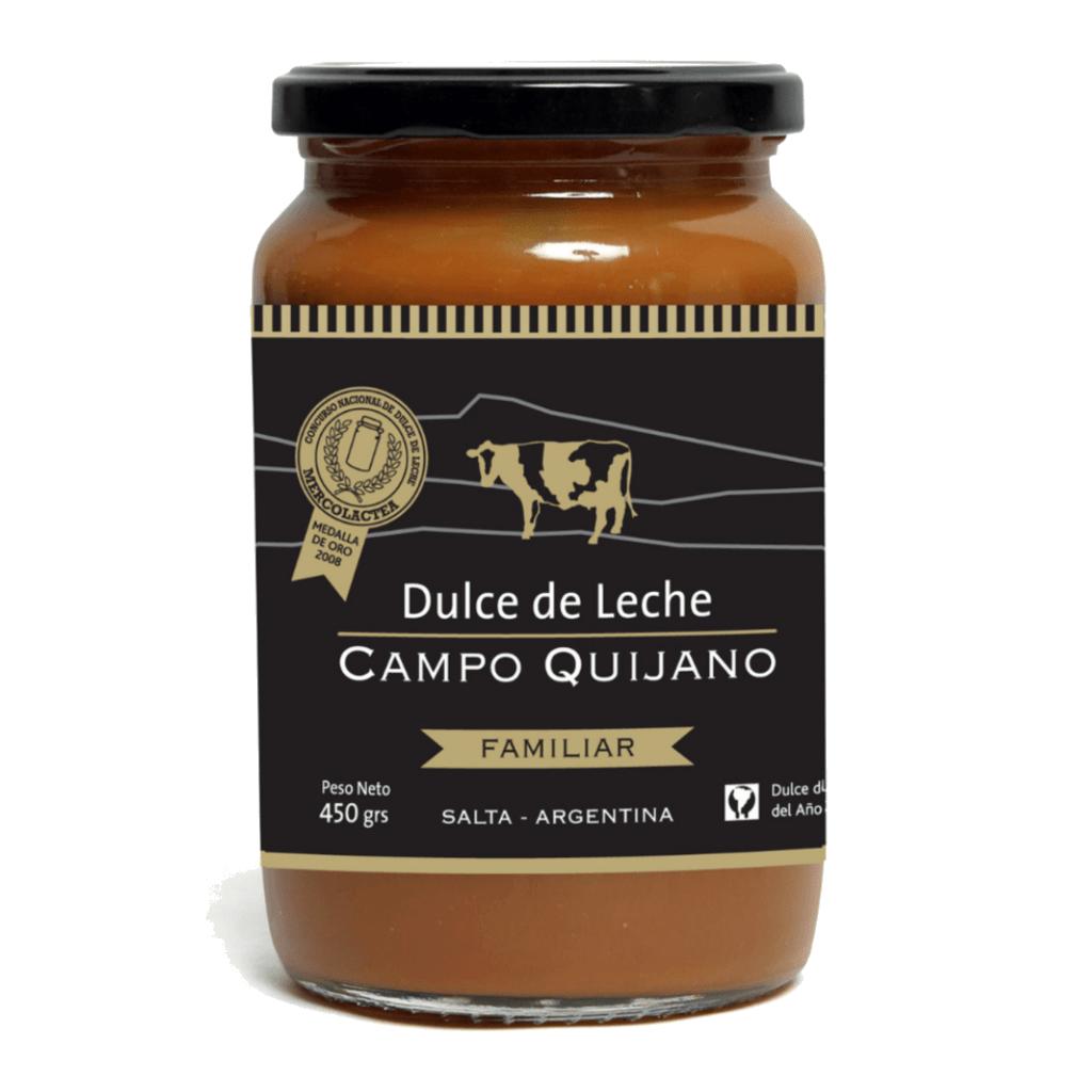 Dulce de leche Campo Quijano 450gr